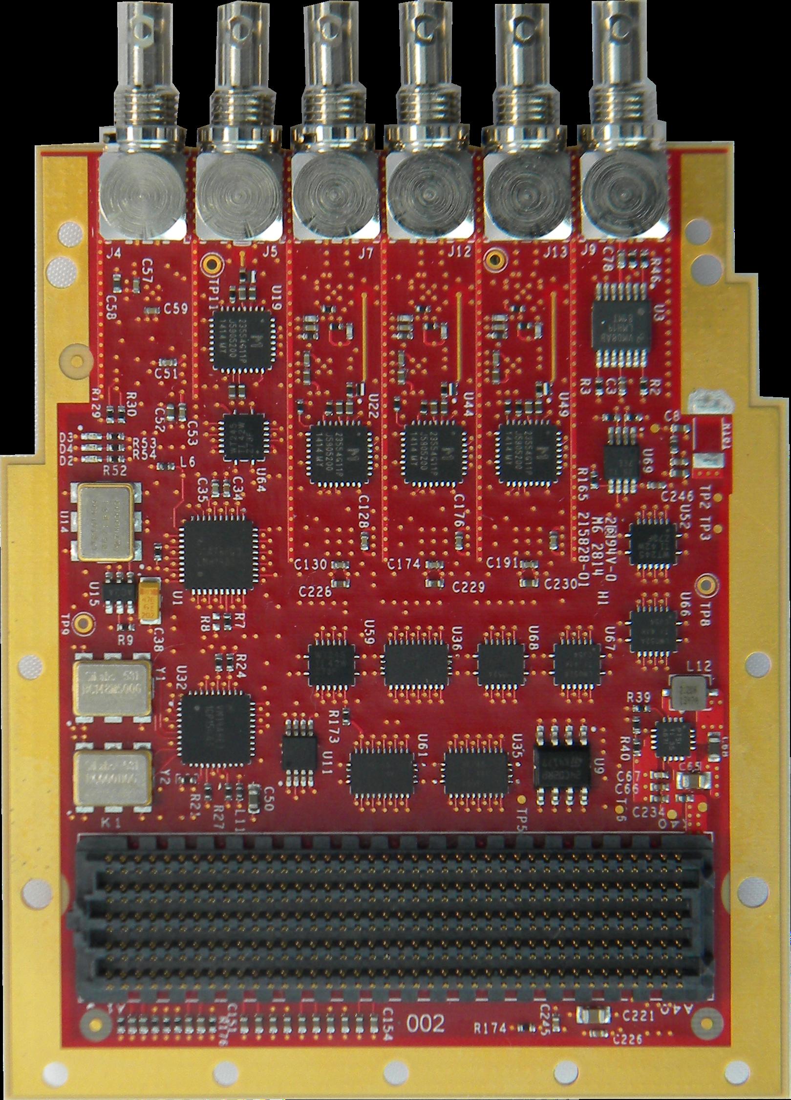 12G-SDI FMCカード 製品外観