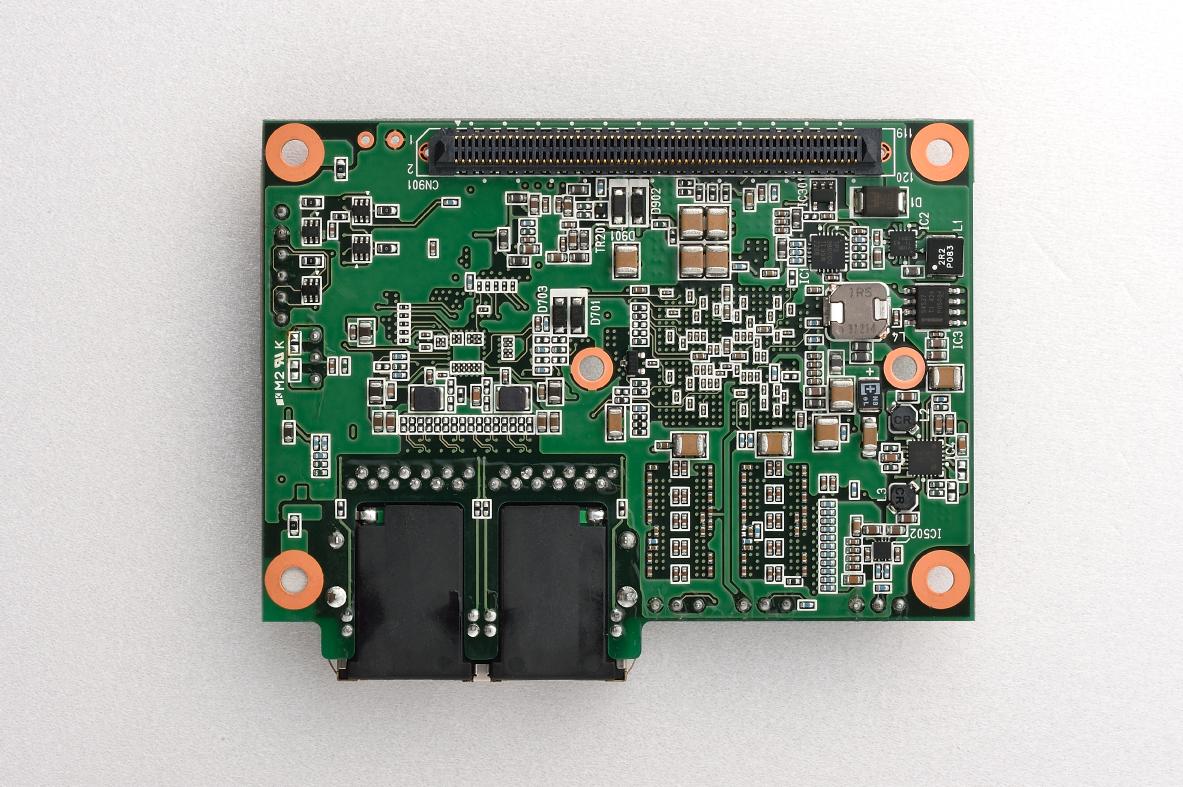Zynq SoC インダストリアル対応 SoM 製品外観 表面