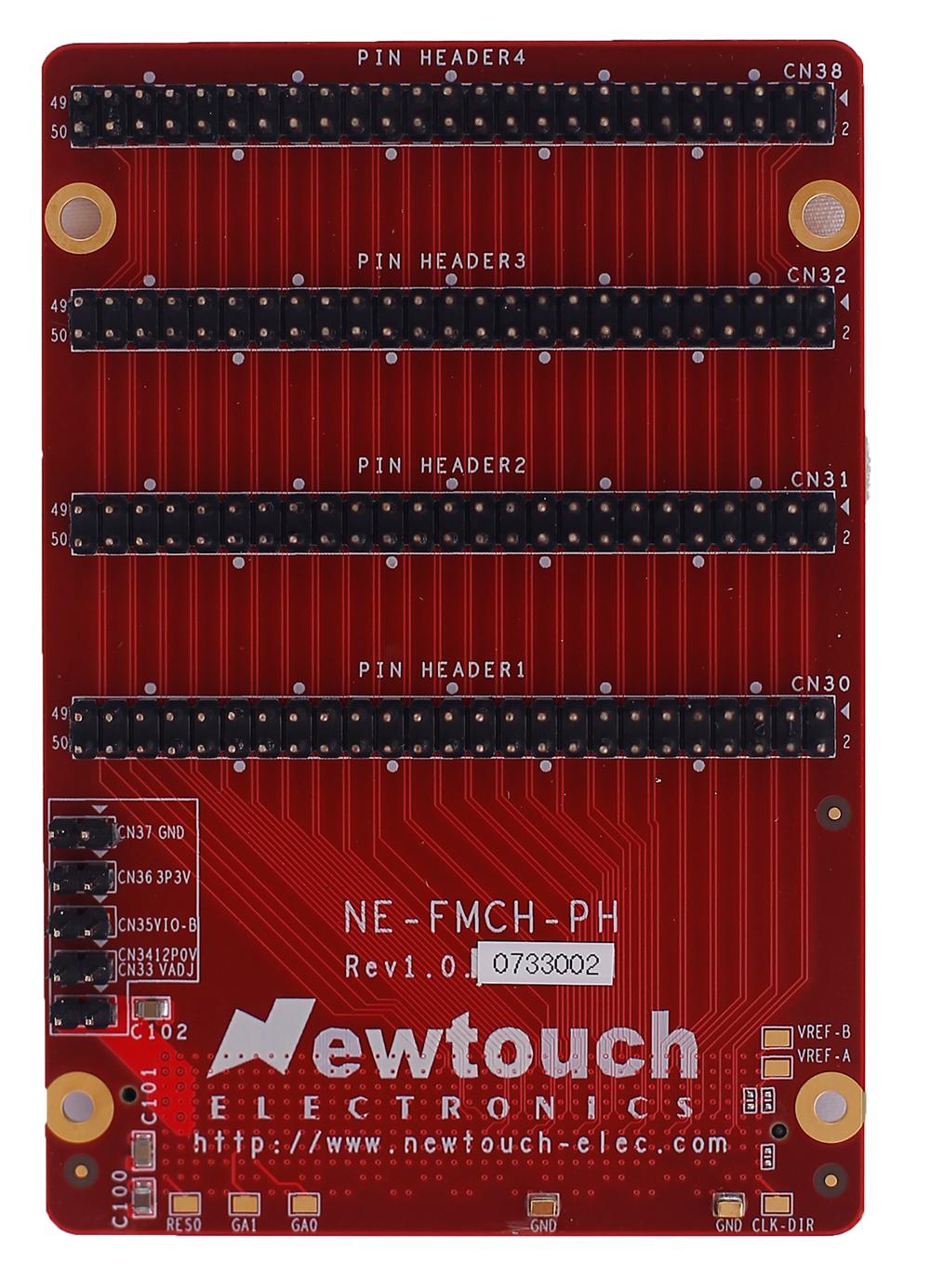 ピンヘッダ FMCカード 製品外観 表面