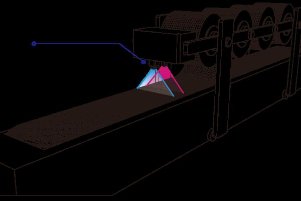カーボン繊維積層-異物検査_高さ計測