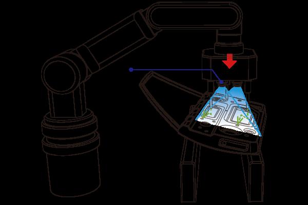 イン投入部品位置補正_部品の正確な位置検出