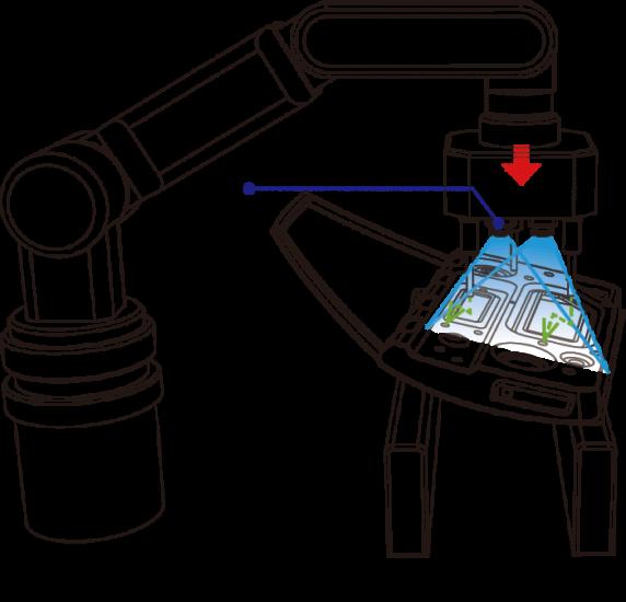 部品の高さ・位置・傾きを計算