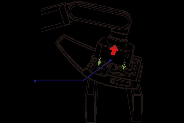 ライン投入部品位置補正_ロボットの補正値による制御