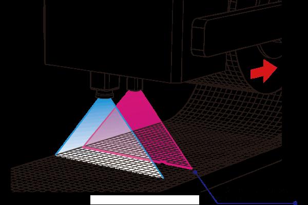 カーボン繊維積層-異物検査_高速プロファイリング