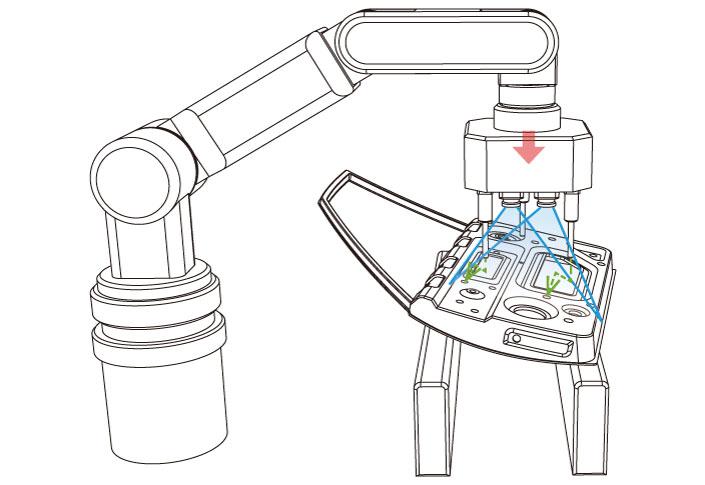 ピッキングロボットの位置補正