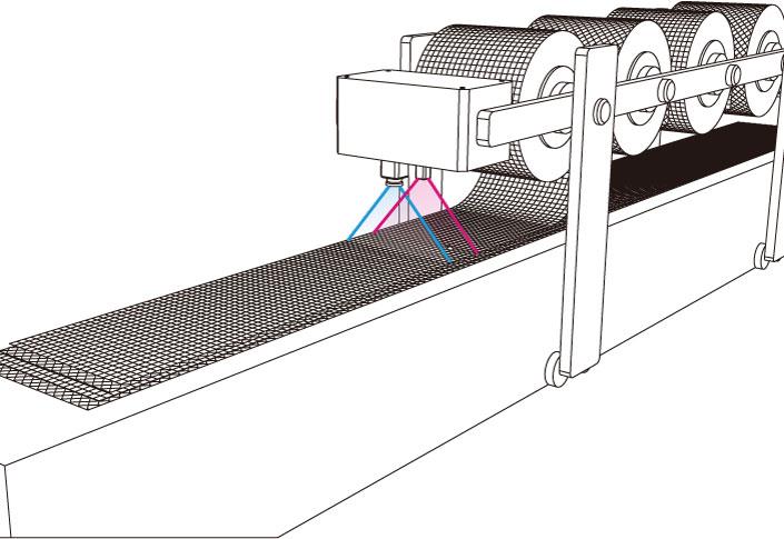 カーボン繊維積層 異物検査