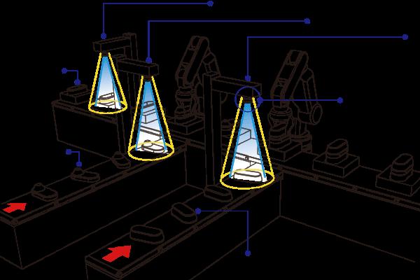 樹脂栓組立_位置補正とロボット指示