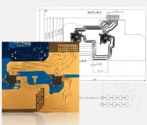 開発事例:3Dイメージング用 48 MIMIO Antenna